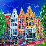 Acryl op doek<br /> 100 x 100 cm<br /> <strong>Verkocht</strong>